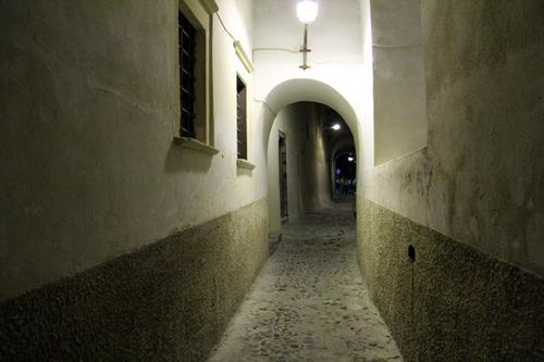 756a7a Santorini de nuit