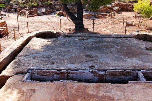 764f7 Mine d'argent antique de Lavrio, au sud d'Athènes