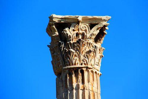 768c4 Athènes, temple de Zeus Olympien