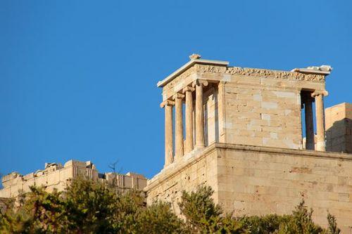 769g1 Athènes, Acropole, temple d'Athéna Nikè