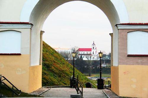 780c7 Biélorussie, Grodno, église des Franciscains