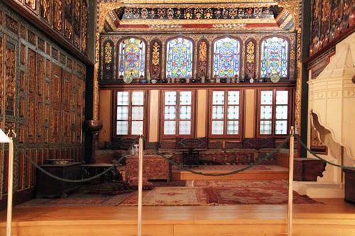 778f1 Musée Benaki, pièce de réception, Macédoine, 18e