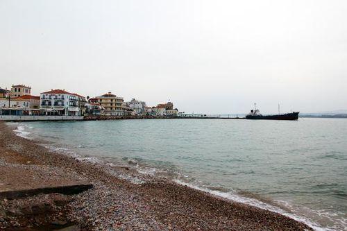 798b3 Vue de l'île de Spetses