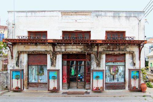 798b6 Une boutique (sans concurrence) à Spetses