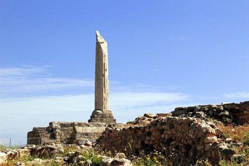 802c2 Le temple d'Apollon à Kolona (Egine)