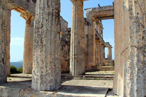 802f1 Le temple d'Aphaia à Aigina