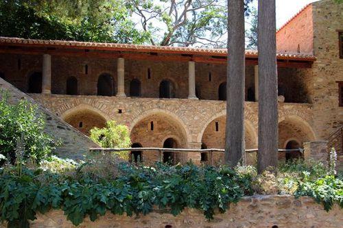 804b1 monastère de Kaisariani, bâtiment conventuel