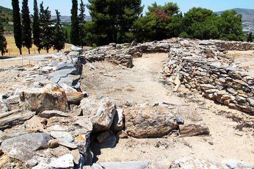 810h3 Site archéologique de Dimini, la première enceinte