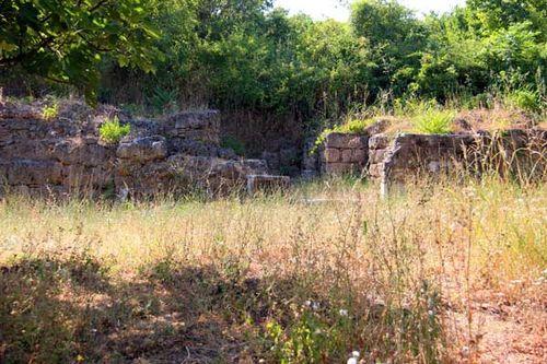 828c3 Edessa antique, porte nord