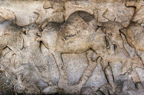 833d4 Thessalonique, arc de Galère