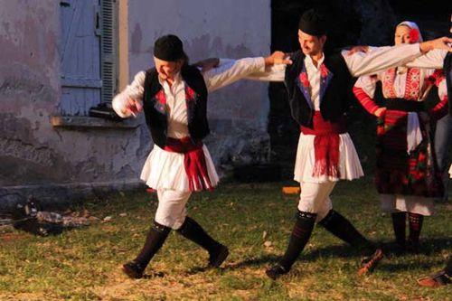 835e1 Danses folkloriques de Macédoine