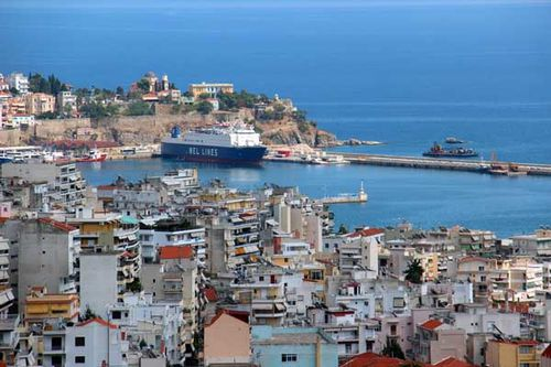 841a2 le port de Kavala
