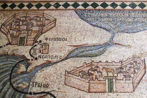 842a4 itinéraire de saint Paul en l'an 50