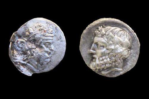 844b5 Monnaies de Thasos