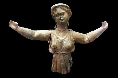 844f3 figurine d'orante