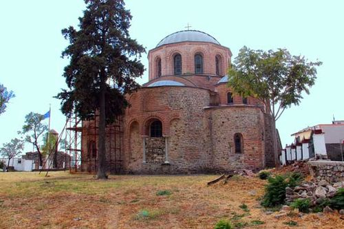 848b4 Panagia Cosmosoteira, à Feres (Thrace)
