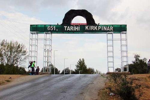 854c1 'Kirkpinar historique', Edirne