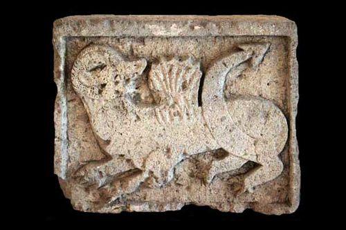857f2 dragon ailé (12e-14e s. après JC)