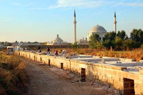 861a2 réfection de l'accès au complexe de Bayezid