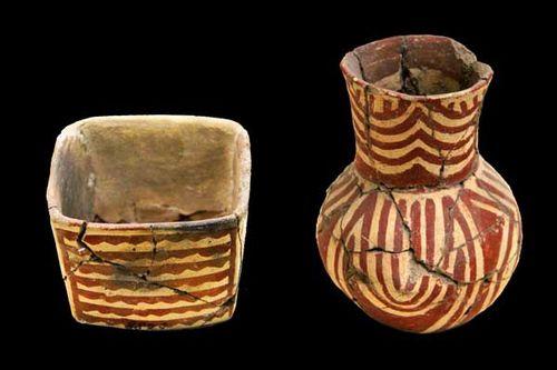 864b1 vaisselle du chalcolithique (4e millénaire)