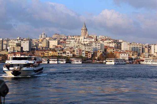 871a5 Vue sur Karaköy (Galata) à Istanbul