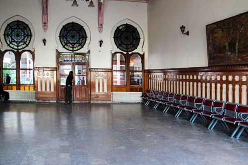 873c3 salle d'attente, gare de Sirkeci