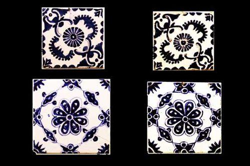 875e carreaux de céramique de Kütahya