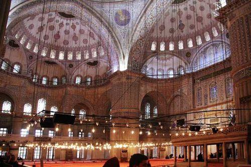 880c1 Mosquée de Sultanahmed (mosquée Bleue)