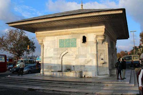 887b1 Fontaine d'Ahmed III à Üsküdar