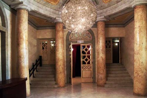 917b hall du théâtre Persiani à Recanati