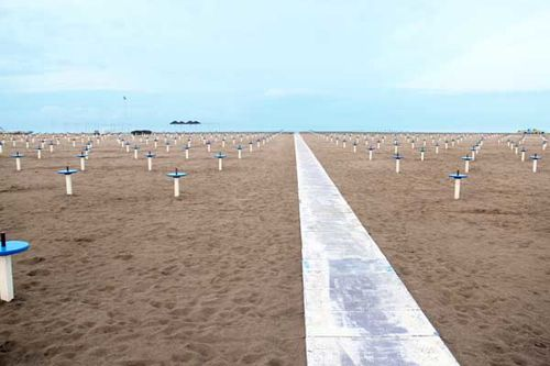 921f1 plage de Rimini