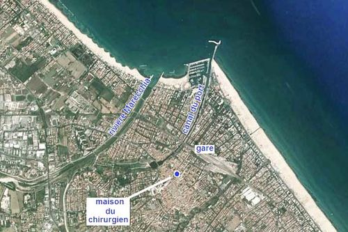 923a1 Rimini sur Google Earth
