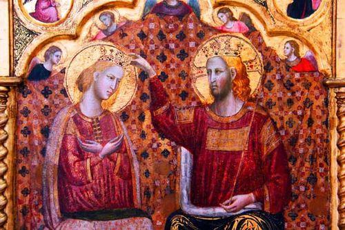 924d6 Rimini, Couronnement de la Vierge, vers 1320