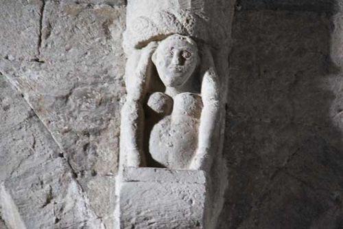 928c6 San Leo (Romagne), cathédrale