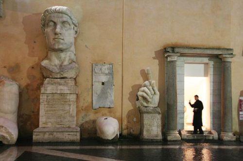 396a1 Rome, musées du Capitole, Constantin