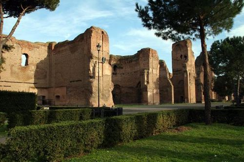 369a Rome, thermes de Caracalla