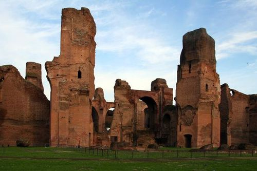 369d Rome, thermes de Caracalla