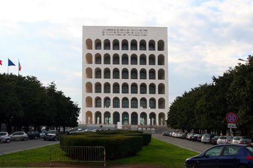 436g1 Rome, EUR, palazzo civiltà del Lavoro