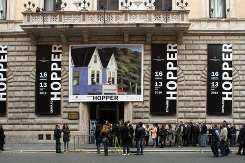 449a Rome, exposition Edward Hopper