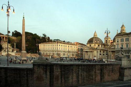 451e Rome, piazza del Popolo