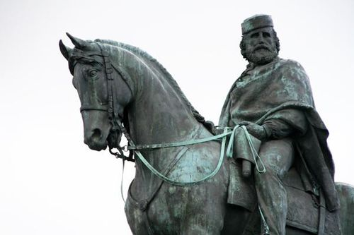 460b Rome, Janicule, Garibaldi