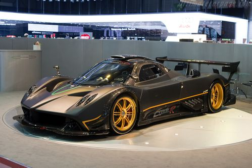 2009 pagani zonda r dark cars wallpapers. Black Bedroom Furniture Sets. Home Design Ideas