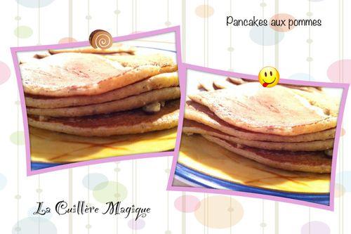 Pancakes aux pommes oct 2012