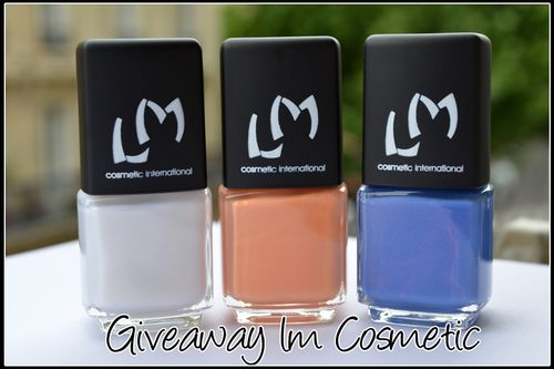Giveaway LM Cosmetic