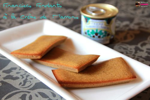 financiers creme marrons 1
