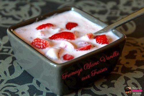 fromage blanc vanille fraise 1
