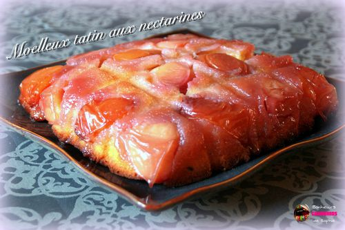 moelleux tatin nectarines 1