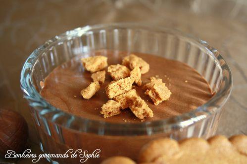mousse chocolat spéculoos 3