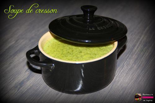 soupe cresson 1