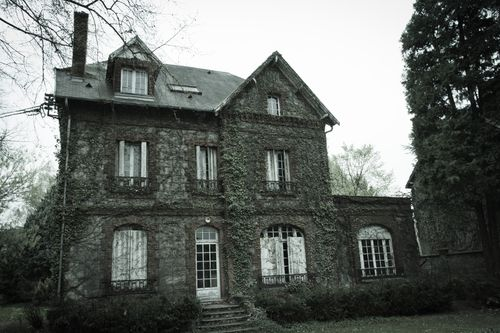 Photo de maison hantée
